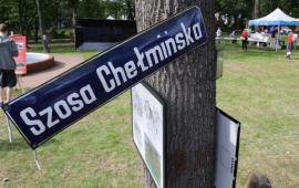 Na zdjęciu: tablica z napisem Szosa Chełmińska
