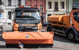 Na zdjęciu: specjalistyczne pojazdy MPo