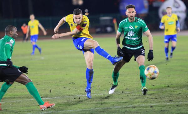 Na zdjęciu: zawodnicy Elany Toruń podczas meczu