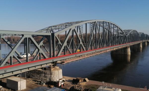 Na zdjęciu: most im. Józefa Piłsudskiego
