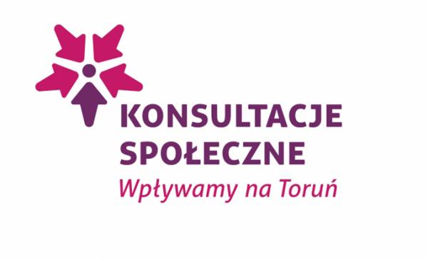 Na zdjęciu: logo konsultacji społecznych
