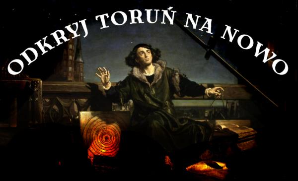 Na zdjęciu: grafika promująca konkurs z wizerunkiem Mikołaja Kopernika