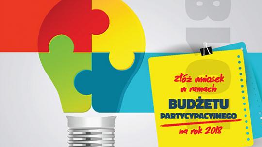 Budżet partycypacyjny 2018 - startujemy