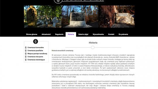 Toruńskie cmentarze
