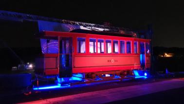 Na zdjęciu: zabytkowy tramwaj turystyczny