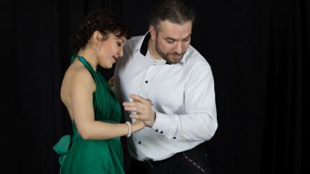 para tańcząca tango