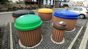 kosze do selektywnej zbiórki odpadów