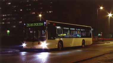 Na zdjęciu: autobus linii nr 26