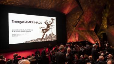 Na zdjęciu: gala Festiwalu Camerimage 2019 na toruńskich Jordankach