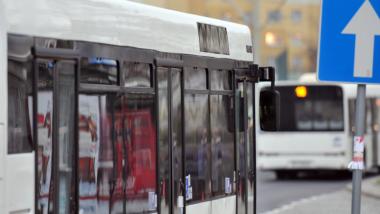 Na zdjęciu: autobusy MZK