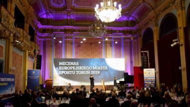 Na zdjęciu: gala Mecenasa Toruńskiego Sportu 2019 w Dworze Artusa
