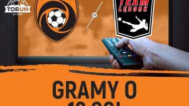 Grafika zapraszająca do obejrzenia meczu futsalu na kanale nSport+