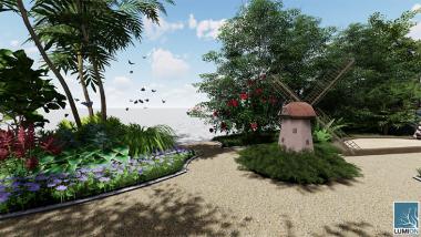 koncepcja parku w stylu holenderskim