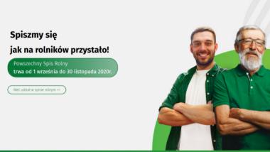 Na zdjęciu grafika ze strony internetowej Powszechnego Spisu Rolnego z miejscem, gdzie trzeba wejść, by rozpocząć samodzielny udział w spisie