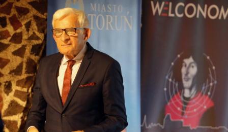 Na zdjęciu prof. Jerzy Buzek
